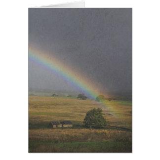 Cartão Chuva de setembro