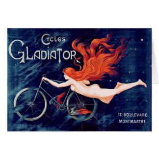 Cartão Ciclos gladiador, Georges Massias