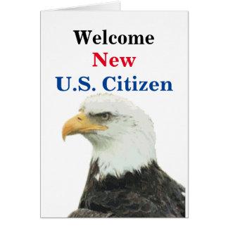 Cartão Cidadão novo bem-vindo dos E.U.