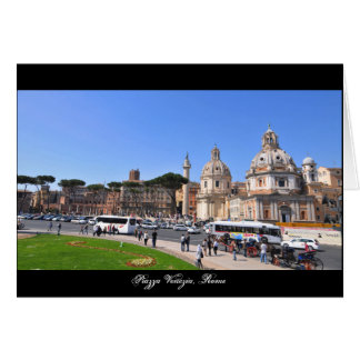 Cartão Cidade antiga de Roma, Italia