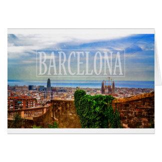 Cartão Cidade de Barcelona