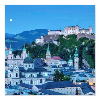 Cartão Cidade de Salzburg, Áustria