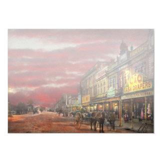 Cartão Cidade - NZ - o distrito 1908 da compra
