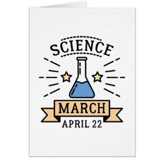 Cartão Ciência março