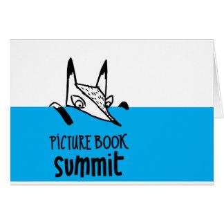 Cartão Cimeira Notecards do livro ilustrado