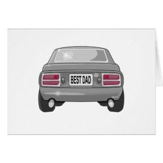 Cartão Cinzas 1976 de Datsun 280Z