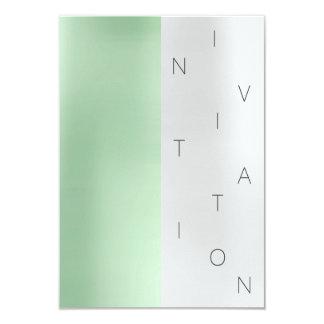 Cartão Cinzas VIP do verde da hortelã do evento da forma