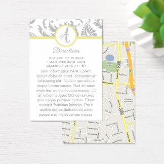 Cartão cinzento do sentido do casamento tema