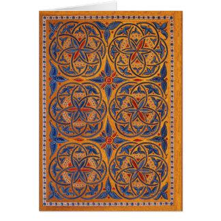 Cartão Círculos medievais