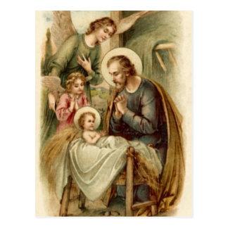 Cartão (citações): Natividade de St Joseph Cartão Postal