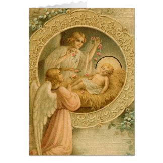 Cartão (citações): O amor veio para baixo no Natal