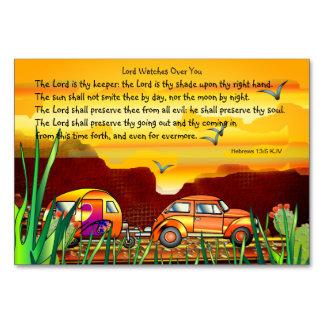Cartão Citações Uplifting de Jesus que não abandonam o