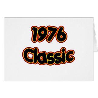 Cartão Clássico 1976