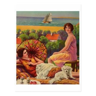 Cartão clássico da ilustração
