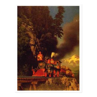 Cartão clássico da pintura