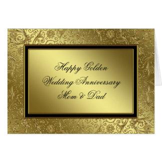 Cartão clássico do aniversário de casamento