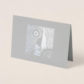 Cartão clássico do art deco para alguma ocasião