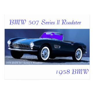 Cartão clássico do carro