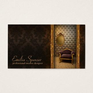 Cartão clássico do chocolate do estilo do designer