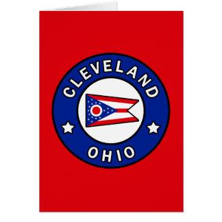 Cartão Cleveland Ohio