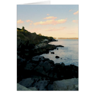 Cartão Cliffwalk, Newport, RI