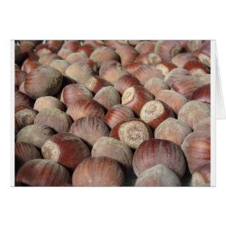 Cartão Close up da fruta do outono do fundo da comida das