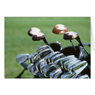 Cartão Clube de golfe