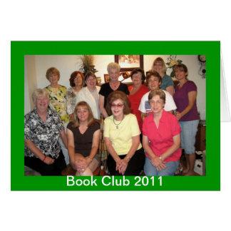 Cartão Clube de leitura