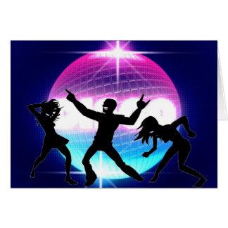 Cartão Clube nocturno do disco