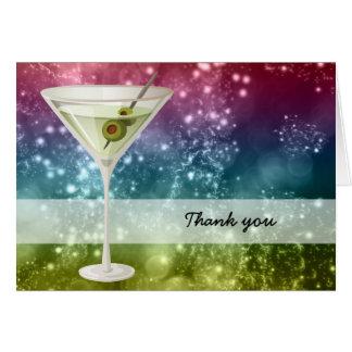 Cartão Cocktail