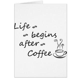 Cartão coffee18