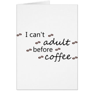 Cartão coffee20