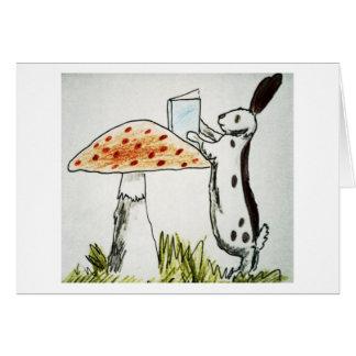 Cartão Cogumelo