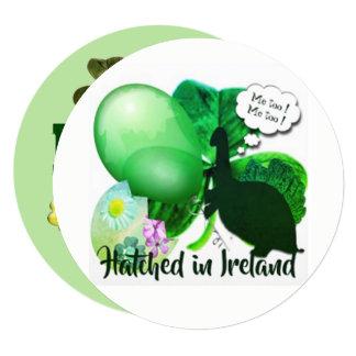 Cartão Coisas irlandesas