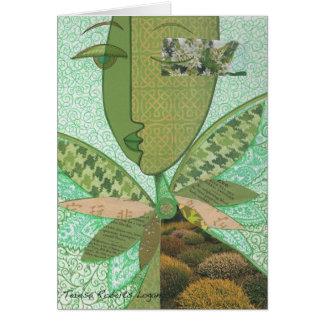 Cartão Colagem celta