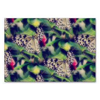 Cartão Colagem da borboleta
