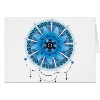 Cartão Coletor ideal 2 da mandala