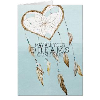 Cartão Coletor ideal do coração