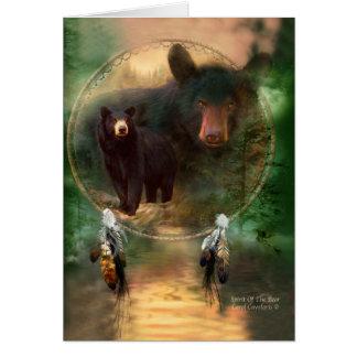 Cartão Coletor ideal - espírito do urso ArtCard