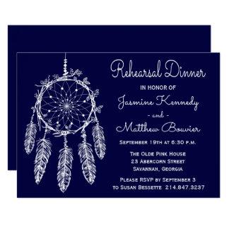 Cartão Coletor tribal do sonho do jantar de ensaio dos