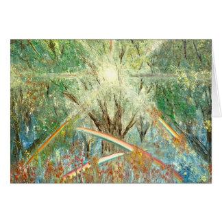 Cartão Colheita da luz do sol - por Ruth Calder Murphy