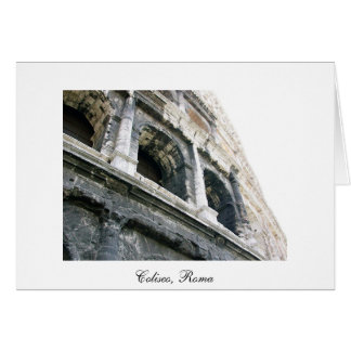 Cartão Coliseo - Roma