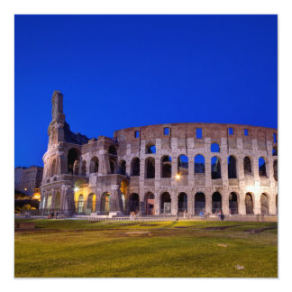 Cartão Coliseu, Roma, Italia