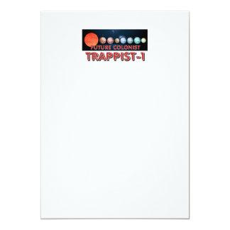 Cartão Colono do T Trappist-1