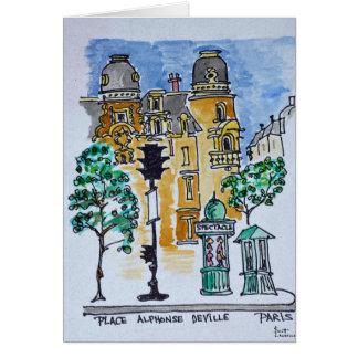 Cartão Coloque Alphonse Deville   Paris, France
