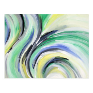 cartão colorido, bamboleado, abstracto,