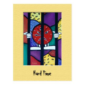 Cartão colorido da dificuldade