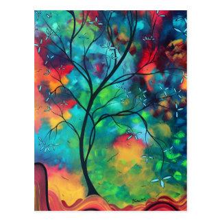 Cartão colorido das inspirações