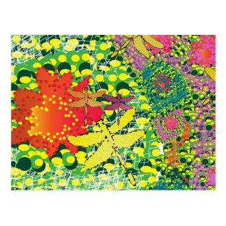 Cartão colorido do deserto