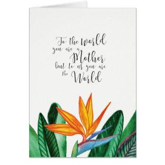 cartão colorido do dia das mães por Ozias